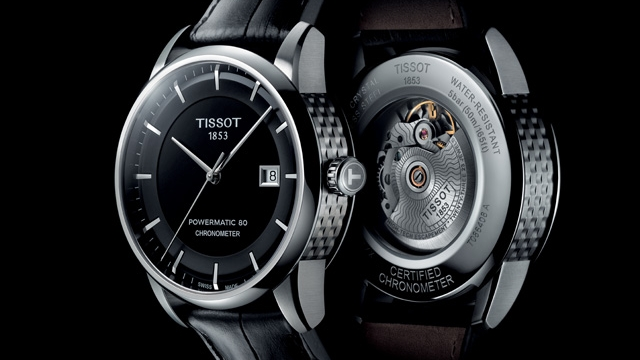 37 TISSOT LUXURY AUTOMATIC